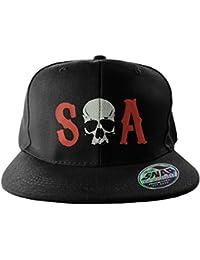 Sons of Anarchy - Casquette de Baseball - Homme noir noir Taille Unique