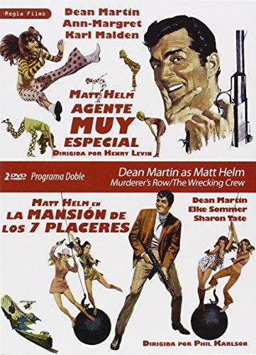 Programa Doble - Dean Martin As Matt Helm (Matt Helm, Agente Muy Especial + La Mansión De Los Siete Placeres) [DVD]