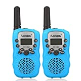 FLOUREON Talkie Walkies Paire Enfant Radios...
