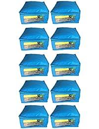 Sarohi Pack Of 10 Pcs Multipurpose Saree Cover Sari Cover Garments Cover For Keeping Saree Blouse - B07DRC6G72
