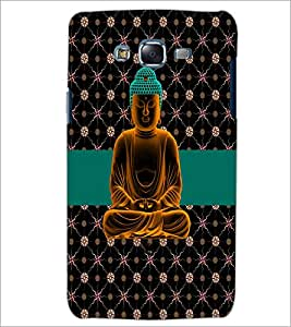 PrintDhaba Lord Mahavir D-2986 Back Case Cover for SAMSUNG GALAXY J7 (Multi-Coloured)