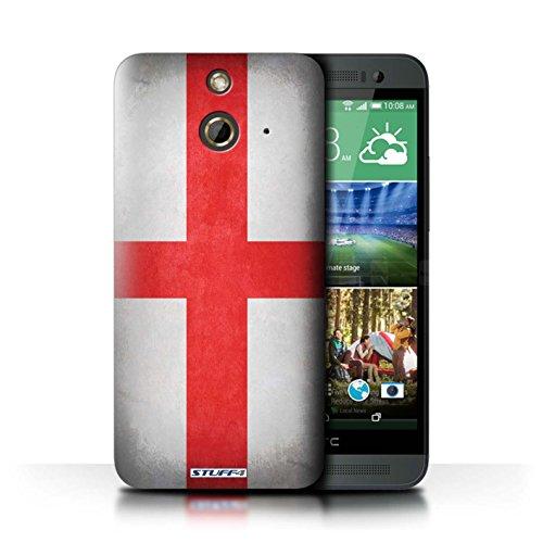 Kobalt® Imprimé Etui / Coque pour HTC One/1 E8 / Corée/coréen conception / Série Drapeau Angleterre/anglais