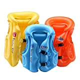#8: JERN Kids colorful Inflatable life vest and jacket