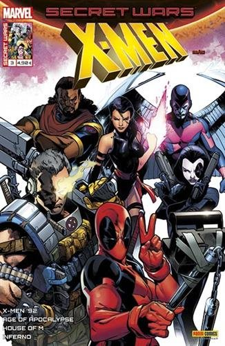 Secret wars : X-men 3