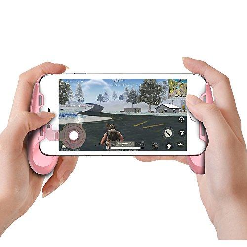 GameSir F1 Agarre de Mando para Juegos con Joystick Palanca de Controlar para Smartphone - Rosa