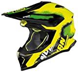 CASCO NOLAN N53 LAZY BOY 23 GIALLO FLU'' ENDURO CROSS TAGLIA XXL