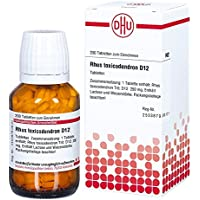 Rhus Tox. D 12 Tabletten 200 stk preisvergleich bei billige-tabletten.eu