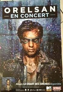Orelsan - Le Chant Des Sirenes - 40X60Cm Affiche / Poster
