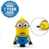 Drumstone Cartoon Design 8 GB USB 2.0 USB Flash Drive High Running Speed Minions Model Pen Drive Compatible With Windows 10/8/7/Vista/XP/ME/2000/ Mac OS X / Linux 2.6x /OTG Mobile (1 Year Warranty)