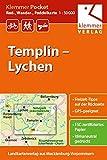 Klemmer Pocket Rad-, Wander- und Paddelkarte Templin - Lychen: Maßstab 1:50.000, GPS geeignet, Freizeit-Tipps auf der Rückseite