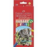 Faber-Castell Jumbo 10pieza (s) laápiz: - Farbstift (10 Stück) Holz, mehrfarbig
