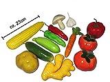 Deko Gemüse Mix künstlich 13 Stück SET