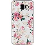 Qiaogle Téléphone Coque - Soft TPU Silicone Housse Coque Etui Case Cover pour Samsung Galaxy A5 (2016) SM-A510 (5.2 Pouce) - YH25 / Big Rose