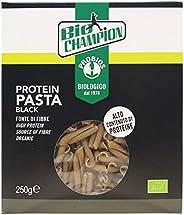 Probios Protein Pasta Black Bio - Senza Glutine - Confezione da 8 x 250 g