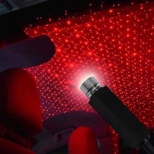 Romantico proiettore a Stella a LED Auto Plug And Play Mini Light Galaxy Lamp Soffitto Atmosfera Interna Decorazione per Auto Baiwka Luce Notturna USB per Tetto Auto Casa Pareti Campeggio Festa
