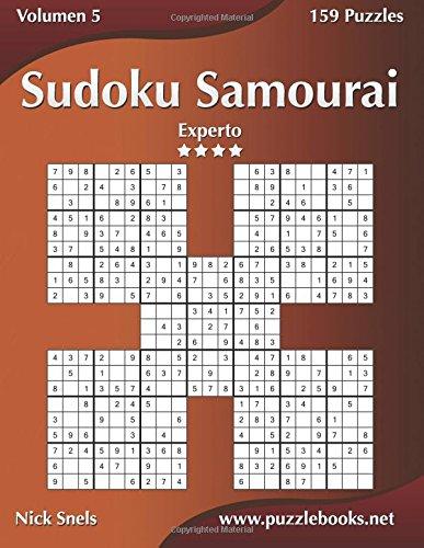 Sudoku Samurai - Experto - Volumen 5-159 Puzzles: Volume 5 por Nick Snels