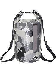 20L Mochila Bolsa Estanca Impermeable Para Deportes Acuáticos Bolsa Seca Dry Bag