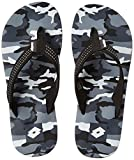 #5: Lotto Men's Black Hawaii House Slippers