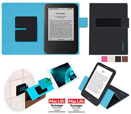 Hülle für Amazon Kindle Keyboard 3G Tasche Cover Case Bumper   in Schwarz   Testsieger