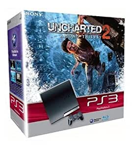 Console PS3 Slim (250 Go) + Uncharted 2 : among thieves