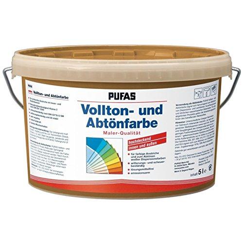 Preisvergleich Produktbild PUFAS Vollton- und Abtönfarben zigarre 5 Liter