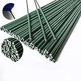 FJROnline Lot de 50 Rubans de Papier de Fer à Fleurs artificielles pour décoration Artisanale 40 cm Vert
