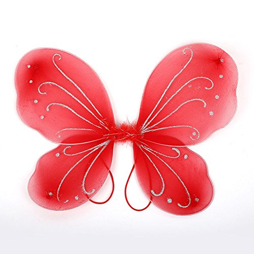 MingXiao Dress up Butterfly Wings 10 Farbe Erwachsene DIY Weihnachten Schmetterling Dress up Tinker Bell Halloween ()