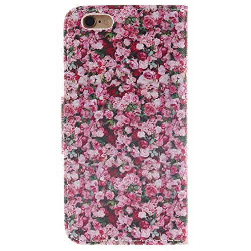 MOONCASE iPhone 6/6S Coque, Printing Series Case Étui en Cuir Portefeuille Housse de Protection Etui à rabat Cover pour Apple iPhone 6 / 6S (4.7 inch) TX15 TX01 #0401