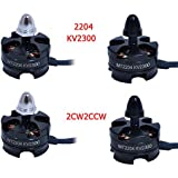 Generic 2204cw : 2204 Small Mini Micro Electric KV2300 CW/CCW For RC Airplane Plane Multi-copter Brushless Outrunner Motor