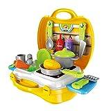 Küchenspielzeug für Kinder, JIM'S STORE Kinderküche Set 23 Stücke Pretend Küche Spielzeug kinder Rollenspiele Spielzeug