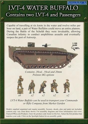 Flames-of-War-LVT-4-Water-Buffalo-BBX26-by-Battle-Front-Miniatures