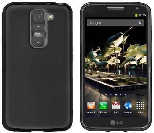 mumbi Hülle kompatibel mit LG G2 Mini Handy Case Handyhülle, schwarz