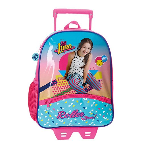 Disney Soy Luna Roller Zone Zainetto per bambini, 33 cm, 9.8 liters, Multicolore (Multicolor)