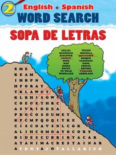 English-Spanish Word Search Sopa de Letras #2 (Dover Children's Language Activity Books)