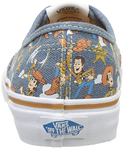 Vans Authentic, Sneakers Basses Mixte adulte Multicolor (Toy Story) Woody/true white)