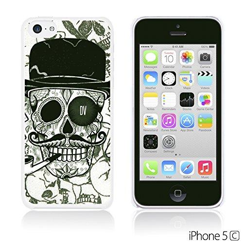 OBiDi - Skull Paintings Hardback Case / Housse pour Apple iPhone 5C - Gentlemen Sugar Skull Gentlemen Sugar Skull