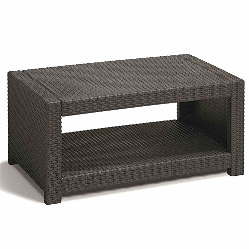 Allibert Lounge Set Monaco, Grau, 4-teilig - 4