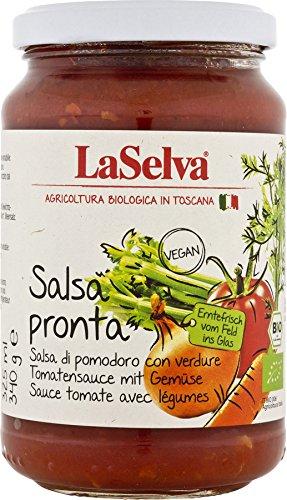 La Selva Bio Salsa Pronta – Tomatensauce mit Gemüse (1 x 340 gr)