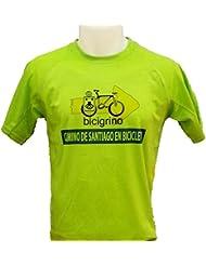 M.Baxter Camiseta de manga corta con cuello redondo para hombre ejercicio ropa deportiva camisetas