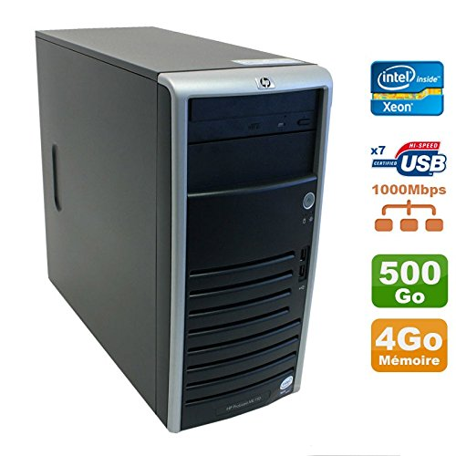 Server HP ProLiant ML110G5XEON X3330, 2,66GHz 4GB Festplatte 500GB SATA