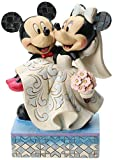 Disney Traditions by Jim Shore Mickey and Minnie Mouse Wedding Figurine by Jim Shore for Enesco