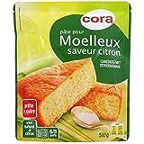 Cora pate pour moelleux citron 500g Envoi Rapide Et Soignée ( Prix Par Unité )