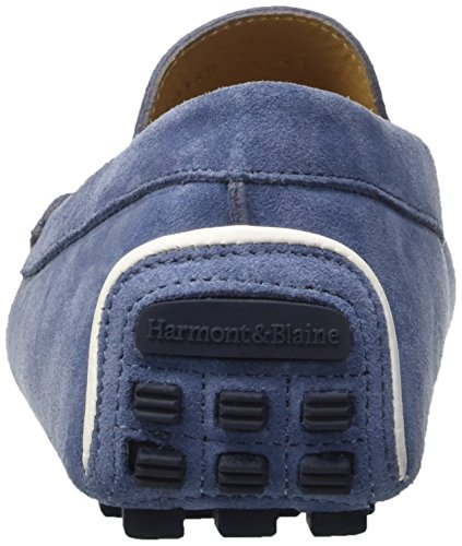 Harmont & Blaine E601372000517, Mocassins Homme Blu (Azzurro)