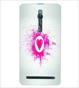 PRINTSWAG HEART Designer Back Cover Case for ASUS ZENFONE 2