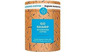 Coffee infused with Mushrooms - Go Sharp or Go Fresh, (Go Sharp)