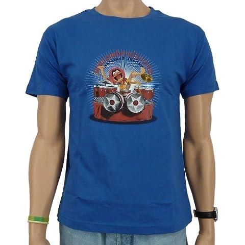 The Muppets - Das Tier the animal T-Shirt, blau, Größe:XXL
