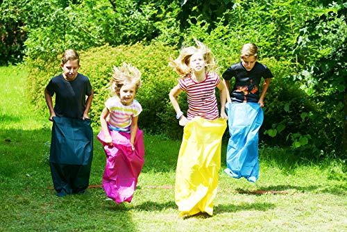Best Sporting Kids Party Set Kindergeburtstag Eierlauf Sackhüpfen Ziel 22 teilig.