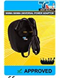Universal Regulated 500mA 600mA AC/DC Adaptor Power, this adaptor is designed for use with most battery-operated products that have a DC jack. e.g. CD Players, Radios, MD Players, Calculators, hand held games, toys etc!!!!! by Redtec