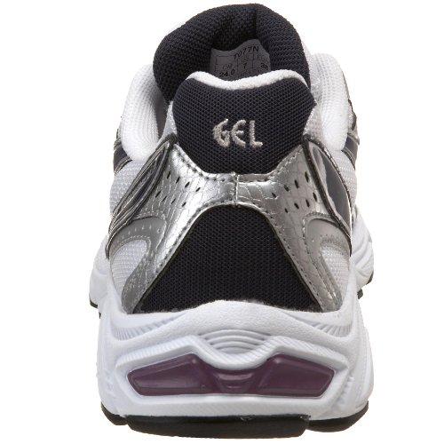 Asics Gel-Maverick 3 Femmes Synthétique Chaussure de Course White-Navy-Imperial Purple