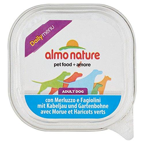 ALMO NATURE Daily menu bio merluzzo fagiolini umido cane gr. 100